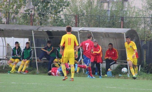 (U16) ROMÂNIA – SERBIA 2-1 ÎNTR-UN AMICAL DISPUTAT LA MOTRU (FOTO)