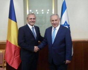 Președintele PSD, Liviu Dragnea în vizită oficială în Israel