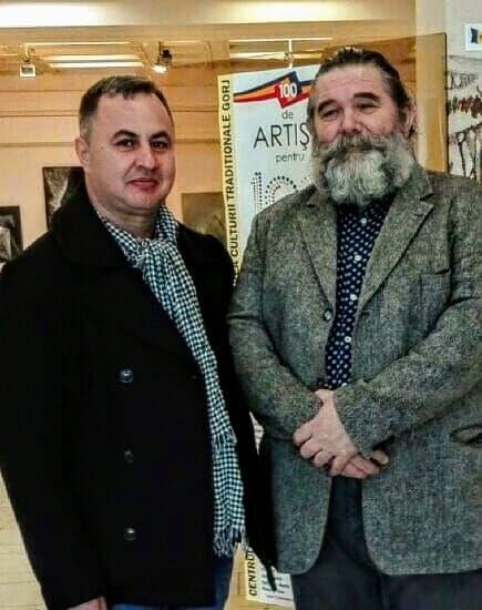 Florin Preda-Dochinoiu (stânga) și Florin Hutium (dreapta)